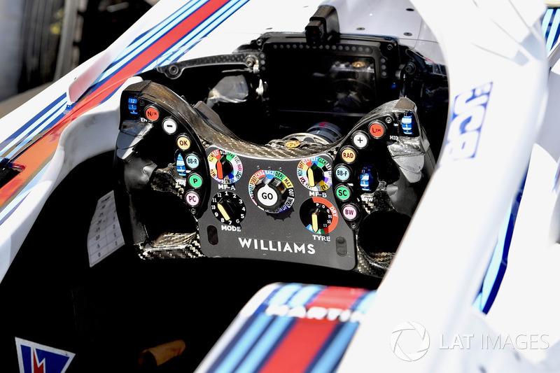 "تفاصيل مقود سيارة ويليامز ""اف.دبليو41"""