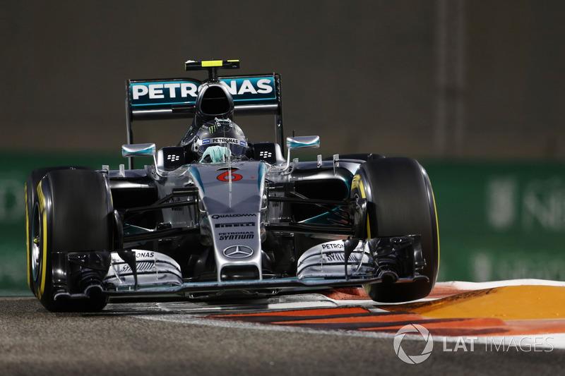 2015: Nico Rosberg, Mercedes F1 W06 Hybrid