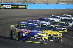 Kyle Busch, Joe Gibbs Racing Toyota, Daniel Suarez, Joe Gibbs Racing Toyota