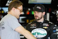Ryan Truex, Kaulig Racing, Bar Harbor / Sea Watch International Chevrolet Camaro and Parker Kligerman