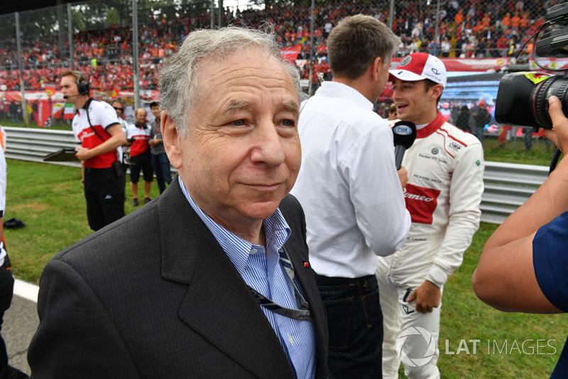 Jean Todt, Presiden FIA