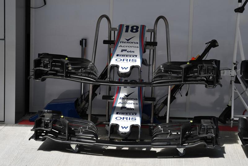 Williams FW41 nariz y ala delantera