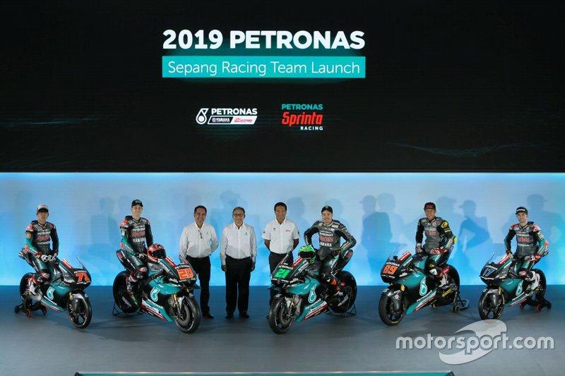Petronas Yamaha launch