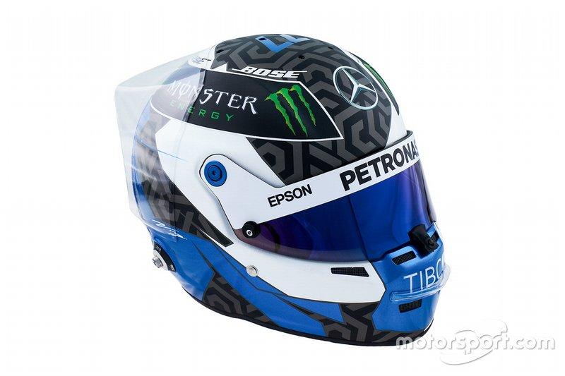 Le casque 2019 de Valtteri Bottas