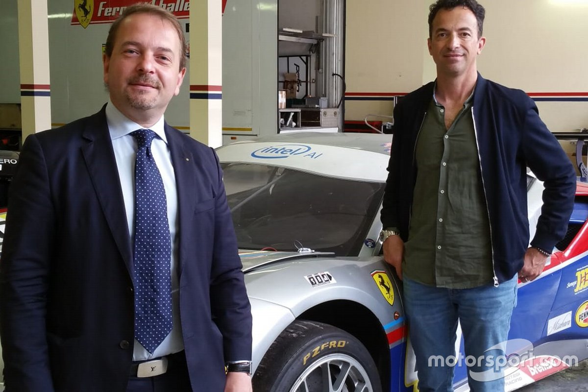 Annuncio Scuderia Ravetto & Ruberti-SR&R
