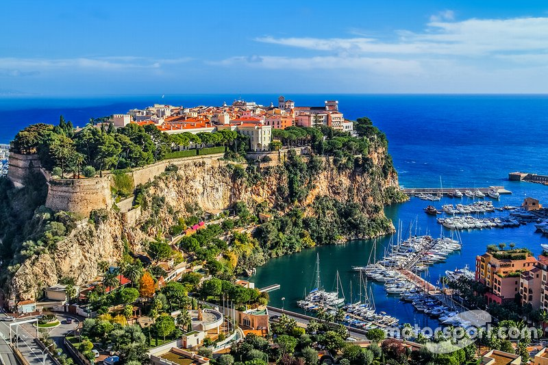 Monaco's iconic coastline – home of the rich, famous and more than a few racing drivers