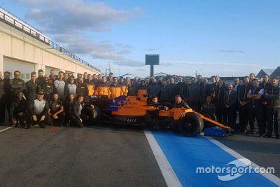 Ноябрьские тесты Pirelli в Ле-Кастелле