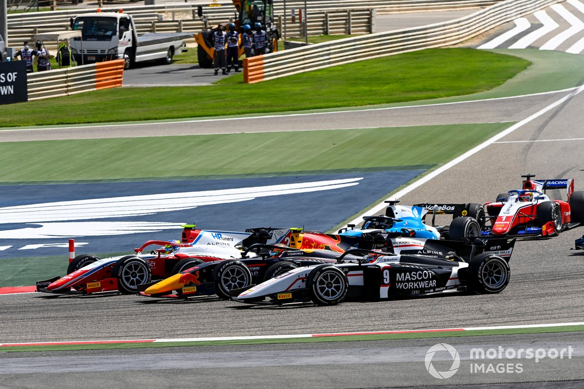 Oscar Piastri, Prema Racing, Jehan Daruvala, Carlin and Christian Lundgaard, ART Grand Prix