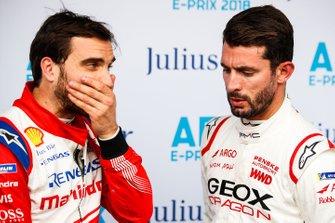 Edoardo Mortara, Venturi Formula E, Venturi VFE05, Jose Maria Lopez, GEOX Dragon Racing, Penske EV-3 in the media pen