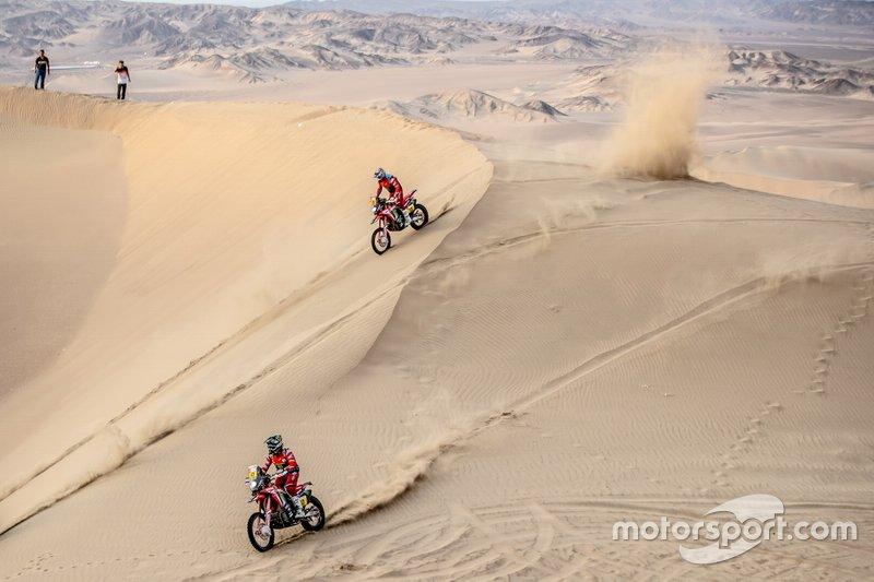 #47 Monster Energy Honda Team: Кевін Бенавідес, #10 Monster Energy Honda Team: Хосе Ігнасіо Корнехо Флорімо