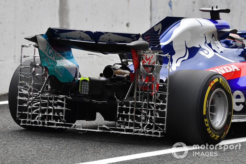 Scuderia Toro Rosso STR13, задня частина
