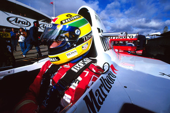 Ayrton Senna, McLaren Ford MP4/8