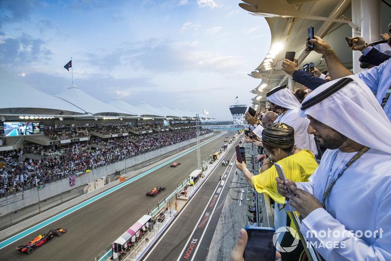 21. GP van Abu Dhabi: P3