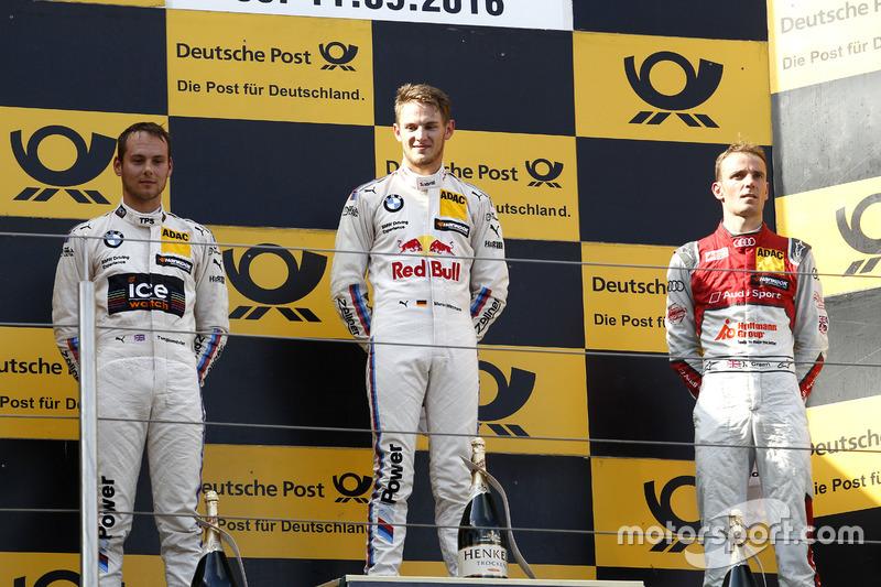 1. Marco Wittmann, 2. Tom Blomqvist, 3. Jamie Green