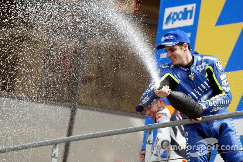 Podio: tercer lugarAlex Barros, Gauloises Yamaha Team