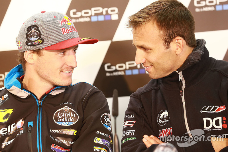 Jack Miller, Marc VDS Racing Honda and Johann Zarco, Ajo Motorsport