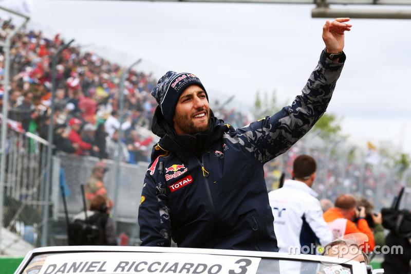 Даніель Ріккардо, Red Bull Racing на параді пілотів