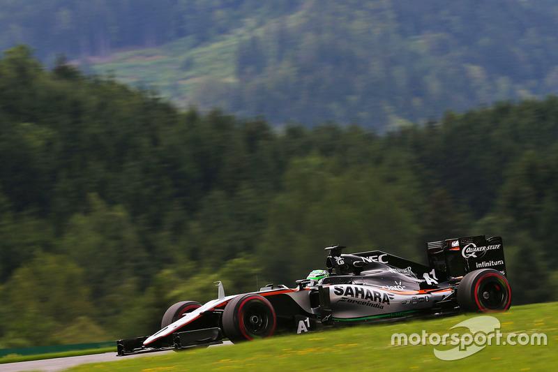 2: Nico Hulkenberg, Sahara Force India F1 VJM09