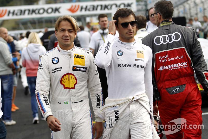 Augusto Farfus, BMW Team MTEK, BMW M4 DTM; Bruno Spengler, BMW Team MTEK, BMW M4 DTM