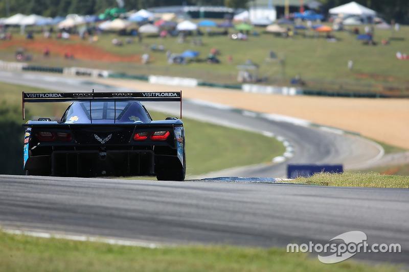 #90 VisitFlorida.com Racing, Corvette DP: Marc Goossens, Ryan Dalziel, Ryan Hunter-Reay