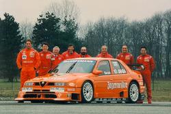 Teampräsentation Alfa Corse JAS mit Michael Bartels, Gabriele Tarquini und Jason Watt