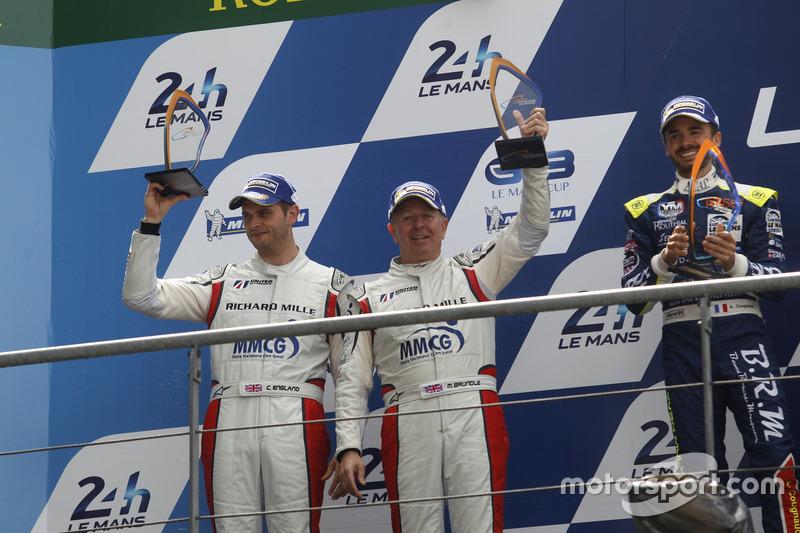 LMP3: 2. Martin Brundle, Christian England, United Autosports