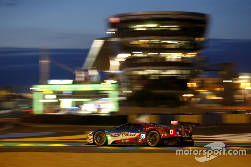 A Chip Ganassi Racing-run Ford GT conquered the GTE Pro class at Le Mans in 2016, with Joey Hand, Dirk Müller and local hero Sebastien Bourdais at the wheel.