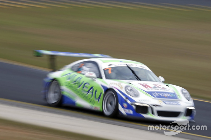 Matt Campbell Geoff Emery At Porsche Carrera Cup