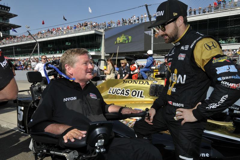James Hinchcliffe, Schmidt Peterson Motorsports, Honda, und Sam Schmidt