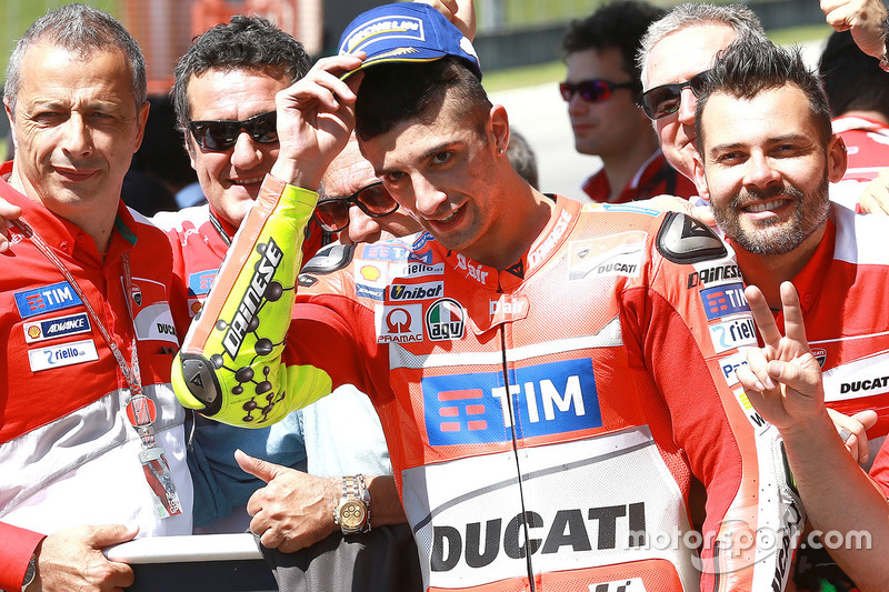 Third place qualifying for Andrea Iannone, Ducati Team