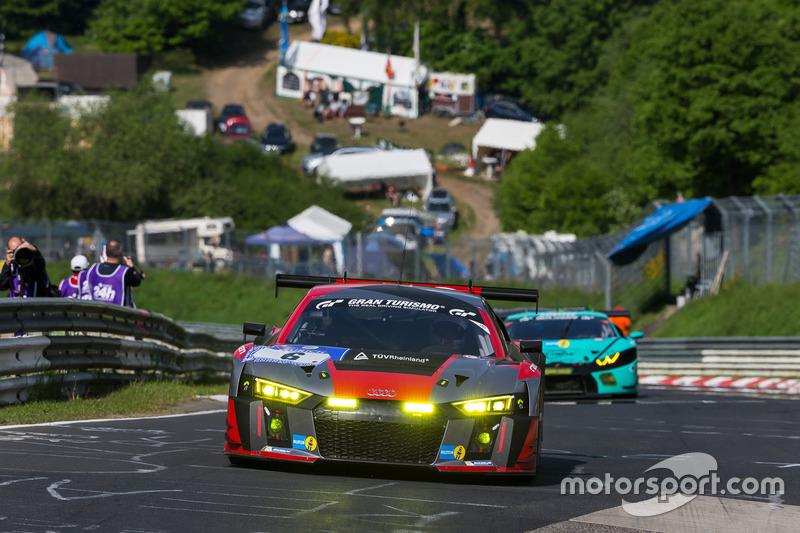 16. #6 Audi Sport Team Phoenix, Audi R8 LMS