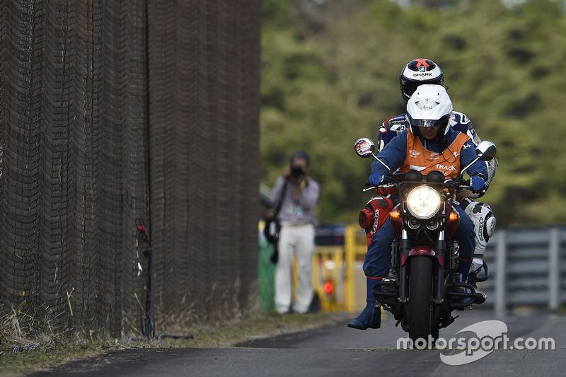 Jorge Lorenzo, Yamaha Factory Racing after his crash
