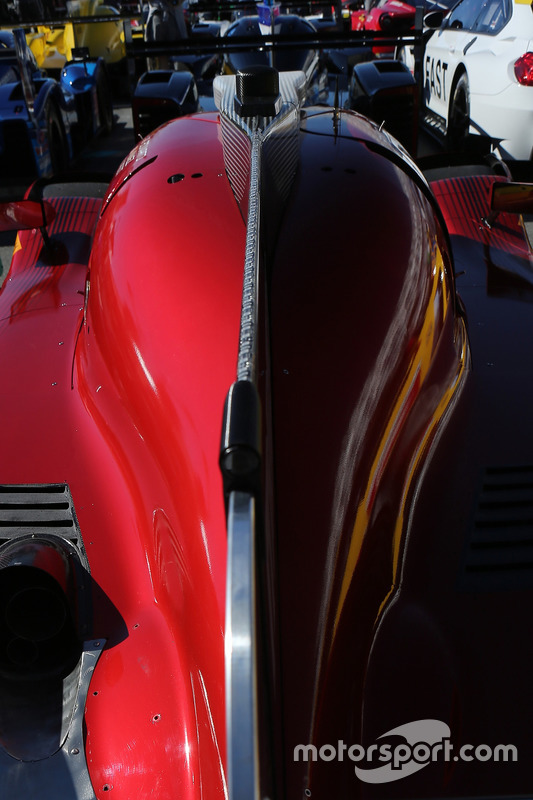 Detail: #55 Mazda Motorsports, Mazda DPi: Jonathan Bomarito, Tristan Nunez, Spencer Pigot