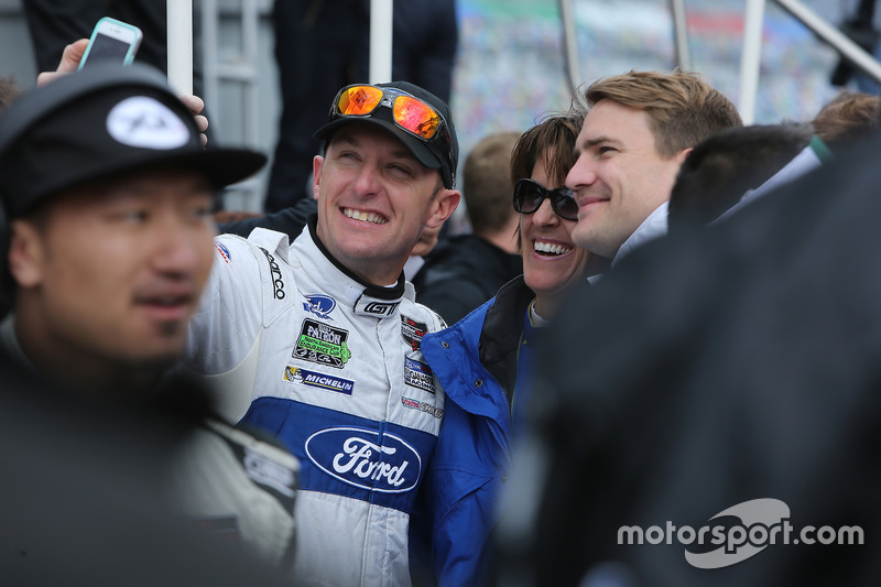 Joey Hand, Ford Performance Chip Ganassi Racing met Dirk Werner, Porsche Team North America