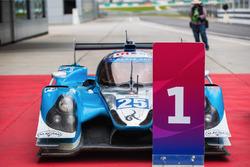 Race winners #25 Algarve Pro Racing Ligier JSP2 Nissan: Andrea Roda, Aidan Read, Andrea Pizzitola