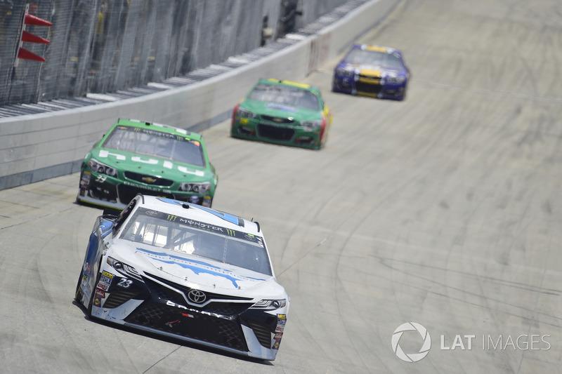 Gray Gaulding, BK Racing, Toyota; Jeffrey Earnhardt, Circle Sport - The Motorsports Group, Chevrolet