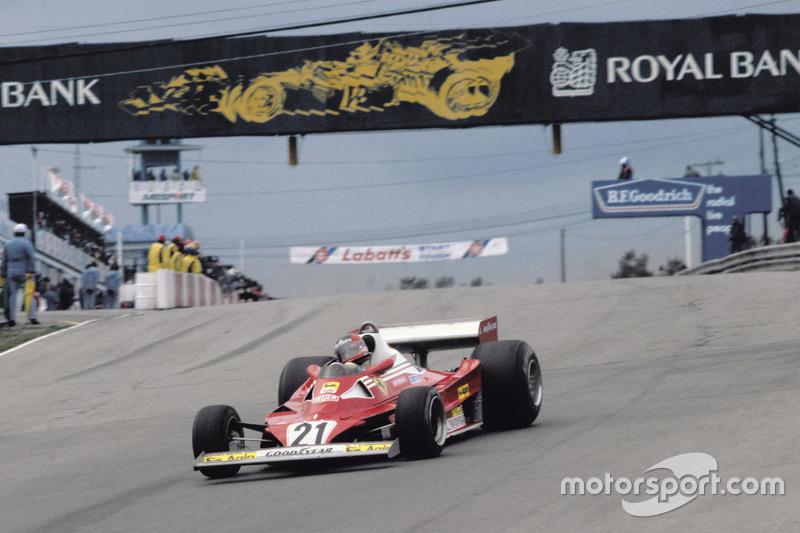 1977: Гран При Канады, Ferrari 312T2