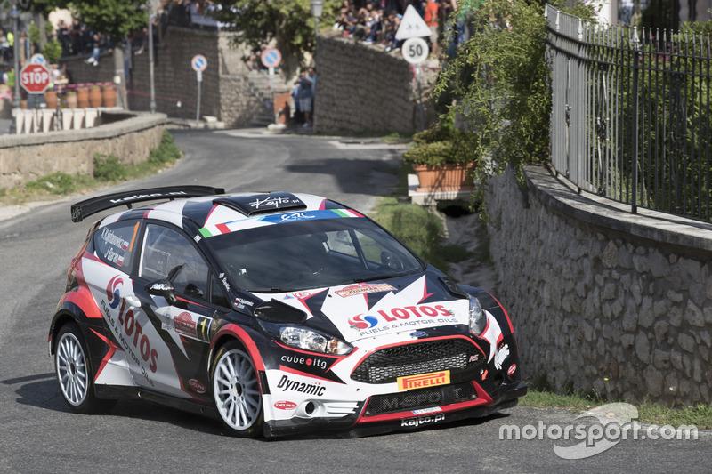 Каетан Каетанович и Ярослав Баран, LOTOS Rally Team Ford Fiesta R5