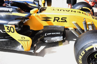 Renault Sport F1 Team RS17 bargeboard detail