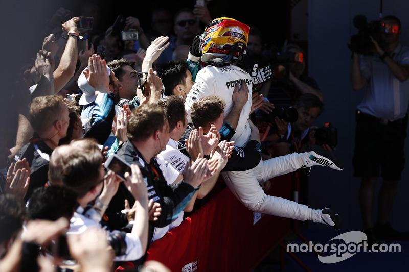2017 İspanya GP: Lewis Hamilton, Mercedes AMG F1 W08