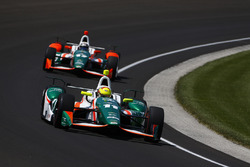 Spencer Pigot, Juncos Racing Chevrolet, Sebastian Saavedra, Juncos Racing Chevrolet