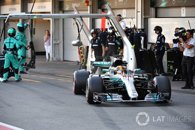 Verlierer: Lewis Hamilton (Mercedes)