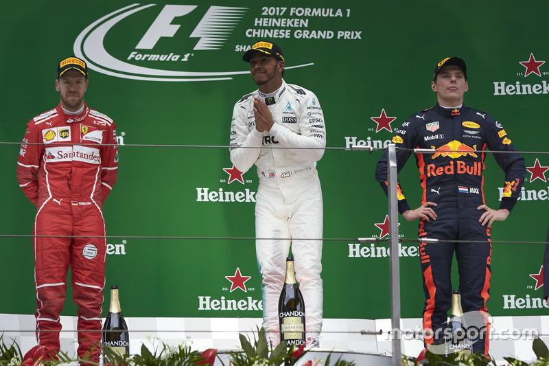 Главный молодой талант впервые в компании двух главных чемпионов Ф1 последних лет