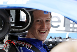 Facebook CEO Mark Zuckerberg before driving a NASCAR Experience car