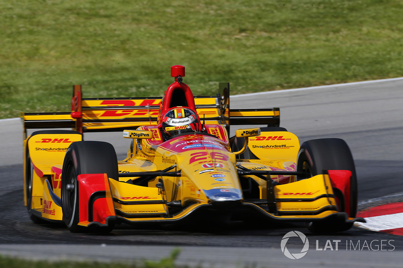 Mid Ohio Sportscar Course >> Ryan Hunter-Reay, Andretti Autosport Honda at Mid-Ohio