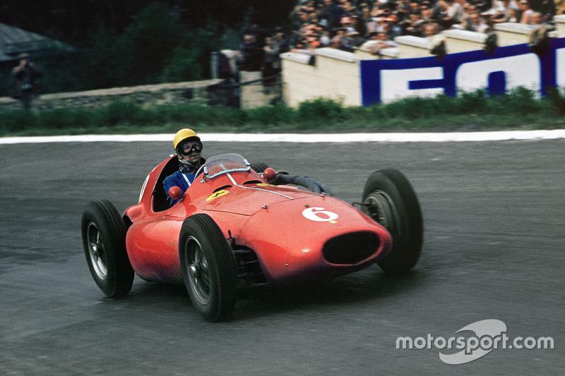 1955-1956: Paul Frere, Ferrari 555 Supersqualo
