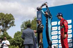 Podio: Ganador Sébastien Buemi, Renault e.Dams; segundo clasificado Jean-Eric Vergne, Techeetah; ter