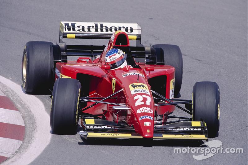 Jean Alesi (Ferrari) - GP Canada 1995