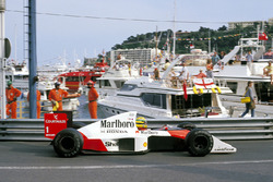 Ayrton Senna, McLaren MP4/5 Honda