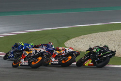 Andrea Iannone, Team Suzuki MotoGP, Maverick Viñales, Yamaha Factory Racing, Marc Marquez, Repsol Honda Team, Dani Pedrosa, Repsol Honda Team, Johann Zarco, Monster Yamaha Tech 3